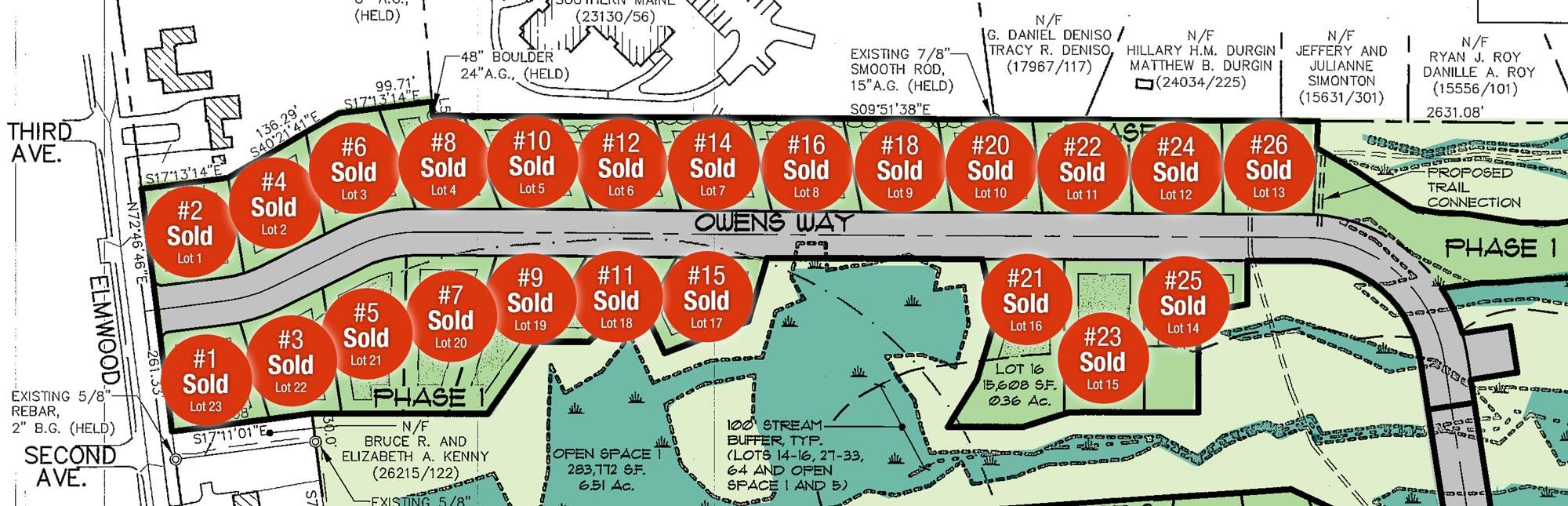 Leighton Farm - Phase 1 Map